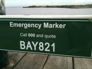 ESTA Emergency Marker BAY821