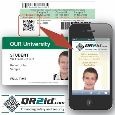 QR2id ID Verification