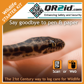QR2id Wildlife Care Starter Kit