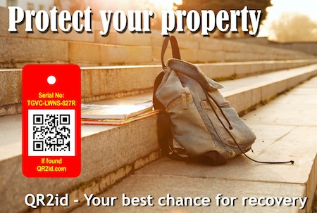 QR2id for personal property