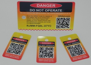 QR2id Safety Tags