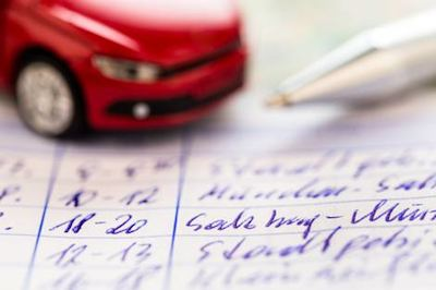 Vehicle Tax Log
